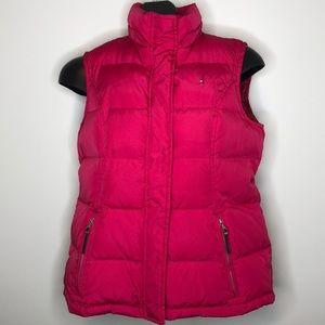 Tommy Hilfiger Raspberry Down blend puffer vest L